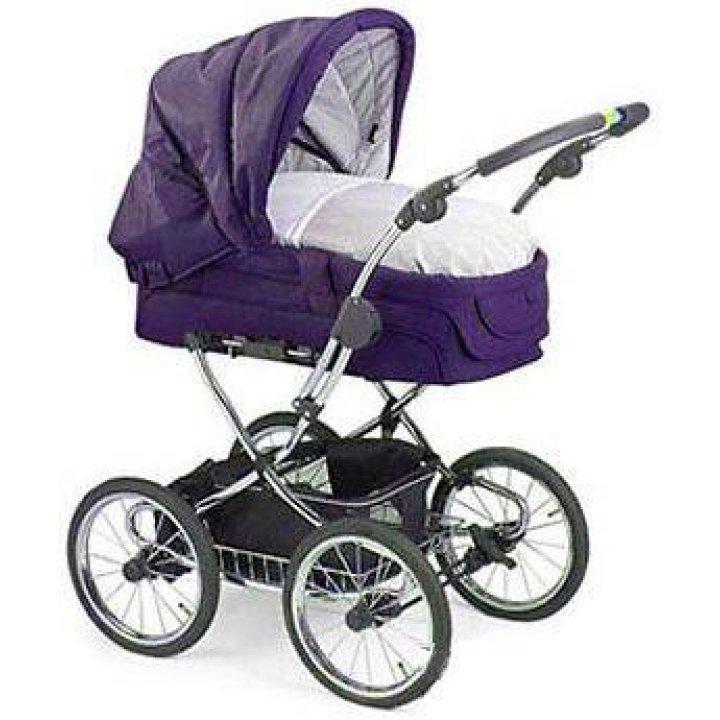 Универсальная коляска 2 в 1 Teutonia Elegance Фиолетовый