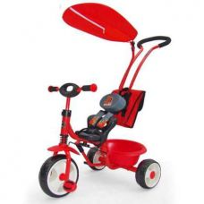Велосипед Milly Mally Boby Deluxe red
