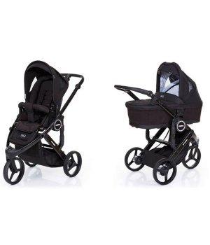 Универсальная коляска 2 в 1 ABC design Cobra Plus Black 2016 (шасси black