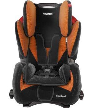 Автокресло RECARO Young Sport Microfibre Orange