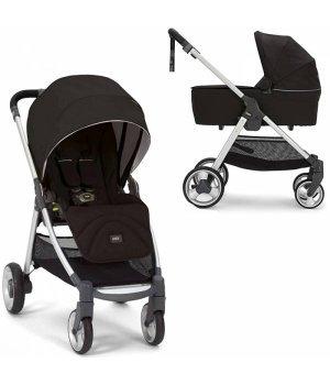 Универсальная коляска 2 в 1 Mamas and Papas Armadillo Flip ХТ Black Jack