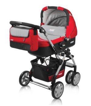 Универсальная коляска 2 в 1 BABY DESIGN SPRINT PLUS 02