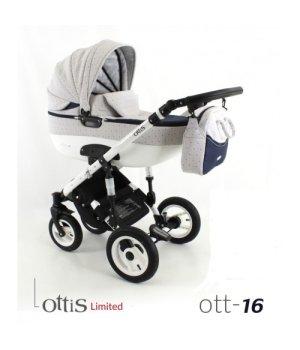 Коляска 3 в 1 ADBOR OTTIS OTT-16 Limited