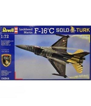 Конструктор 1:72 Revell Model Set Многоцелевой истребитель F-16 C SOLO TURK
