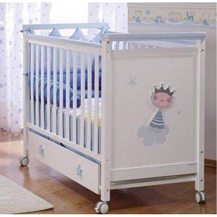 Детская кроватка Micuna Petit Prince Голубой