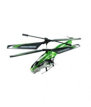 Вертолет Phantom Scout 20 см с гироскопом 3-канальный Auldey зеленый