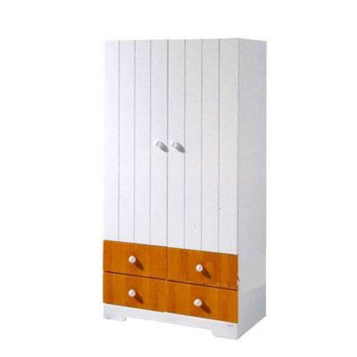Шкаф Micuna A-1414 Белый с медовым