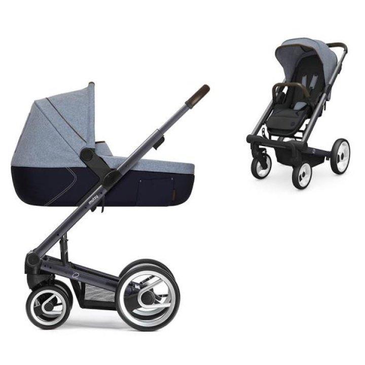 Универсальная коляска 2в1 Mutsy I2 Farmer Sky / Dark Grey