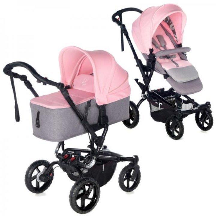 Детская коляска 2 в 1 Jane CROSSWALK MICRO T32 Swan 2018 (Розовая)