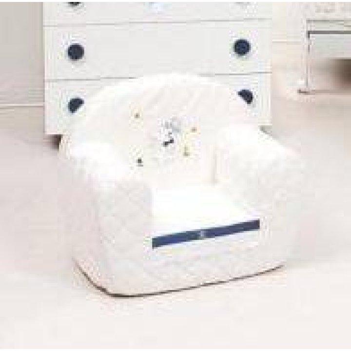 Кресло Ruggeri Coniglietti Белый с синим