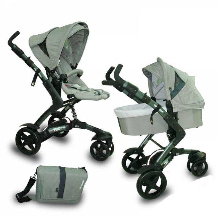 Универсальная коляска 2 в 1 ABC design 3 Tec Pearl