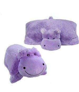 Декоративная подушка Pillow Pets Забавный гиппопотам