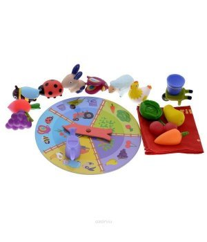 Детская игра Djeco тактильное лото Ферма