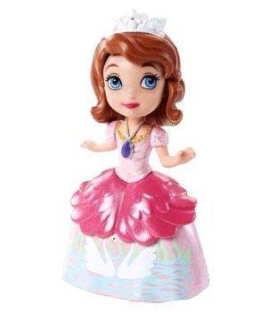 Кукла Sofia the 1st Принцесса Дисней София Первая В розовом с лебедями