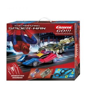 Гоночная трасса Carrera Go The Amazing Spider Man Manhattan Madness 217 х 94 см, 5.3 м