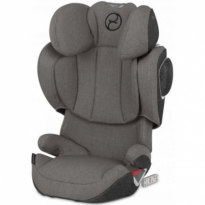 Автокресло Cybex Solution Z-Fix Plus Soho Grey mid grey