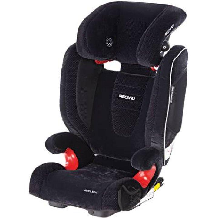 Автокресло RECARO Monza Nova SeatFix Microfibre black/aquavit