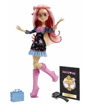 Кукла Mattel Monster High из м/ф Страх, камера, мотор Вайперин Горгон
