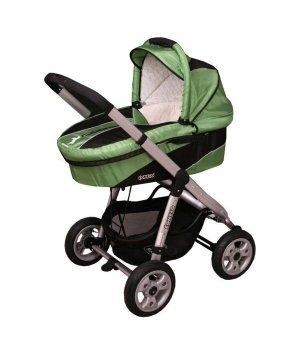 Универсальная коляска 2 в 1 Coneco V3 Mustang 04 (зеленый)