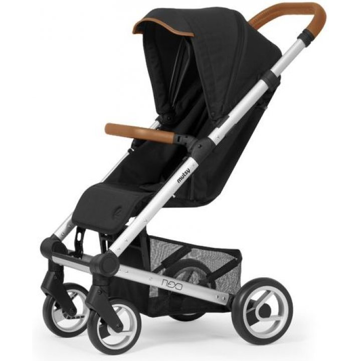Прогулочная коляска Mutsy NEXO Carbon Melange