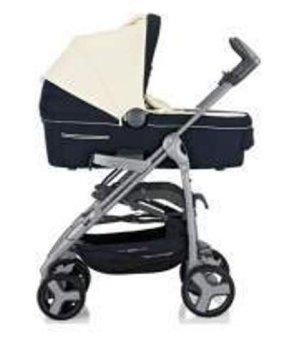 Универсальная коляска 3 в 1 Inglesina Zippy Free System Blu-Bianco