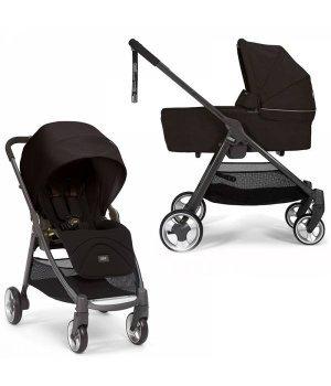 Универсальная коляска 2 в 1 Mamas and Papas Armadillo Flip Black Jack