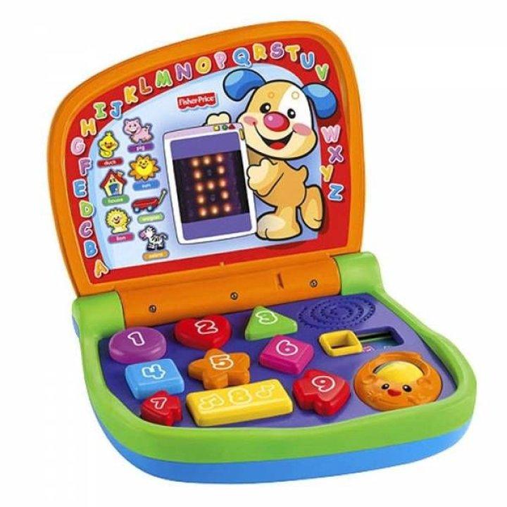 Интерактивная игрушка Fisher-Price ноутбук Двуязычный