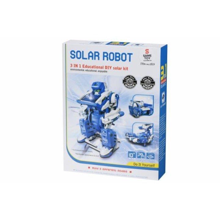 Робот-конструктор Same Toy Трансформер 3 в 1 на солнечной батарее