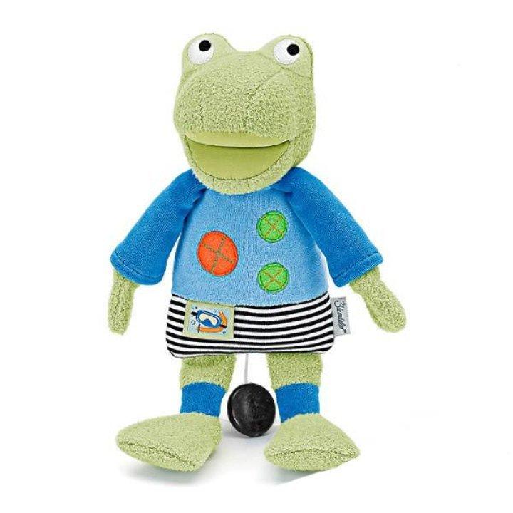 Мягкая музыкальная игрушка Sterntaler Лягушенок