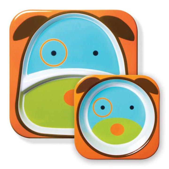 Набор тарелок Skip Hop Zoo Собачка (252201)