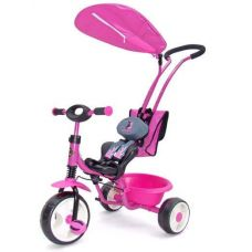 Велосипед Milly Mally Boby Deluxe pink