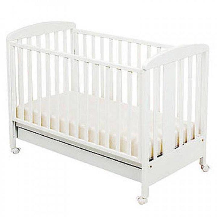 Детская кроватка Ruggeri 90.90 Белый