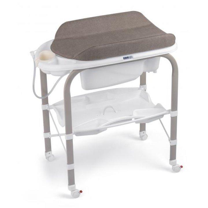 Пеленальный столик с ванночкой CAM Cambio C246 Кофейный