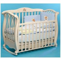 Кроватка Baby Italia ANDREA VIP ANTIQUE Слоновая кость