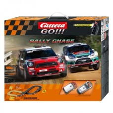 Гоночная трасса Carrera Go Rally Chase 119 х 115 см, 3.6 м
