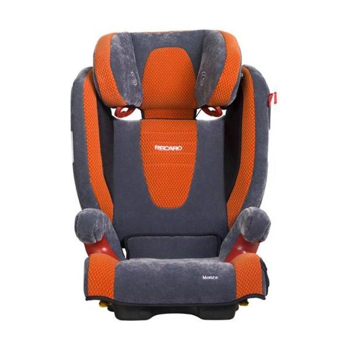 Автокресло RECARO Monza SeatFix Microfibre grey/pepper