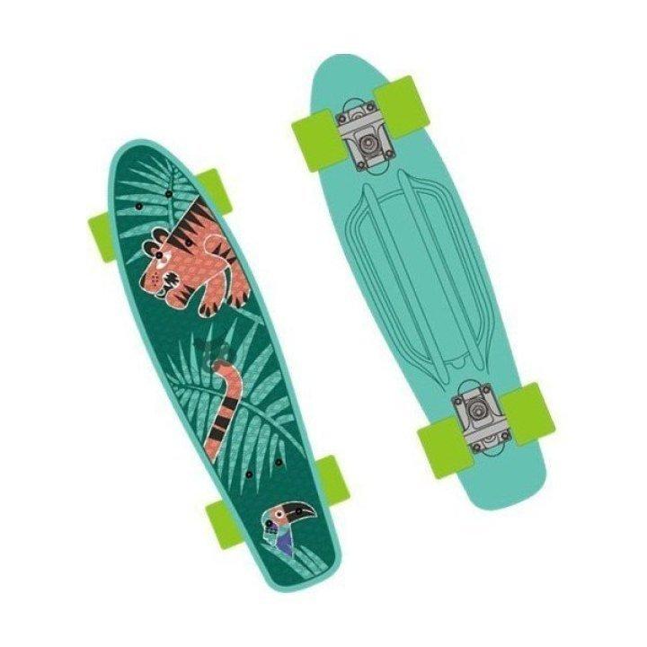 Скейт GO Travel с рисунком 56 см.