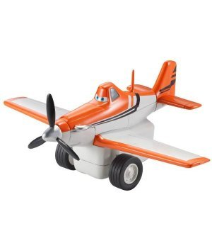 Игрушка для мальчика Matell Заводной инерционный самолетик Дасти