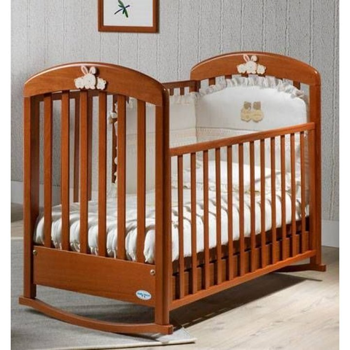 Детская кроватка Ruggeri Cinzia Вишня