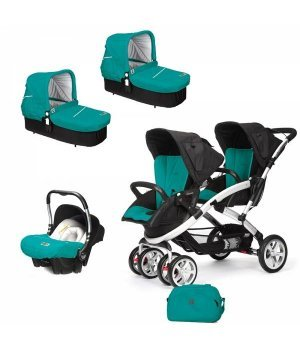 Универсальная коляска 3 в 1 для двойни Casualplay S-TWINNER BABY Allports
