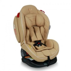 Автокресло Bertoni ARTHUR ISOFIX (0-25кг) Beige Leather