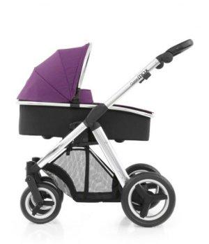 Универсальная коляска 2 в 1 BabyStyle Oyster Max Wild Purple / Mirror (Сиреневая)