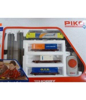 Стартовый набор модельной железной дороги Piko Грузовой поезд с электровозом BR 189