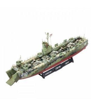 Конструктор 1:144 Revell Средний десантный корабль U.S. Navy Landing Ship Medium (LSM)