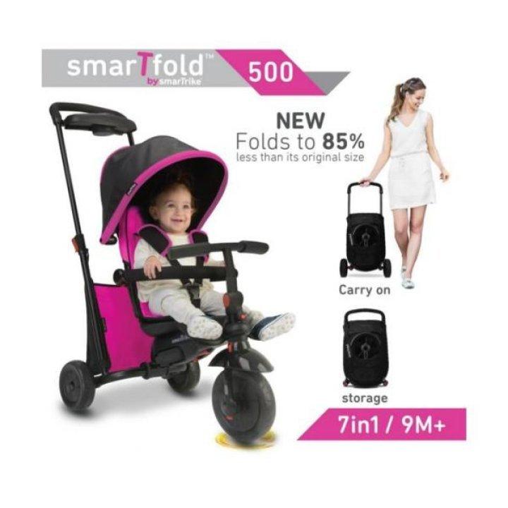 Smart Trike Велосипед SmarTfold 500 7 в 1 Розовый