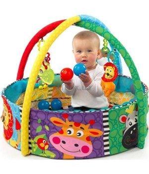 Детский развивающий коврик-бассейн Playgro