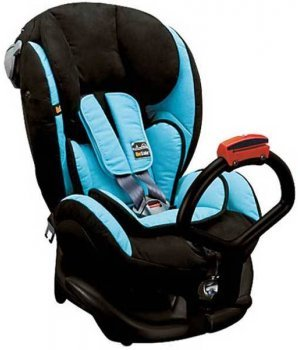 Автокресло BeSafe iZi Kid X1 Черный с голубым