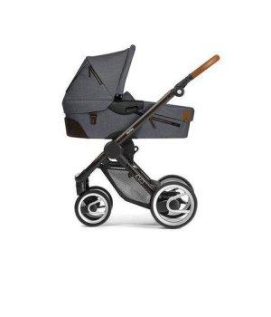 Классическая коляска Mutsy EVO Urban Nomad Dark Grey /Industrial Black Brown