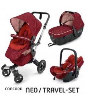 Универсальная коляска 3 в 1 Concord NEO Travel Set Tomato Red 2016