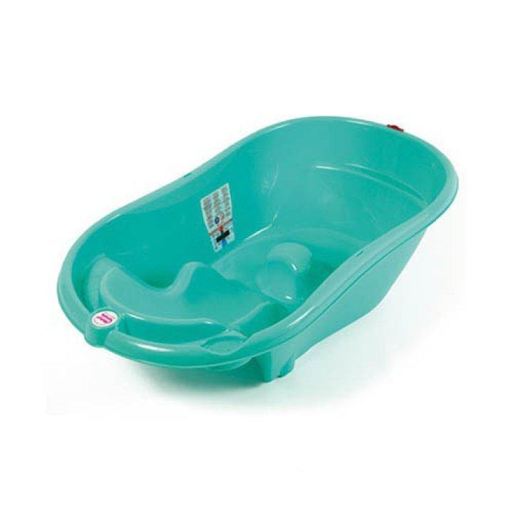 Ванночка для купания OK Baby Onda зеленый